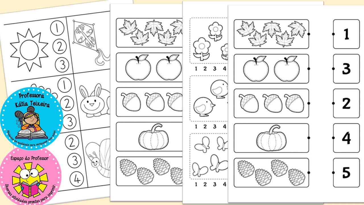 Coleção de atividades de matemática para a educação infantil