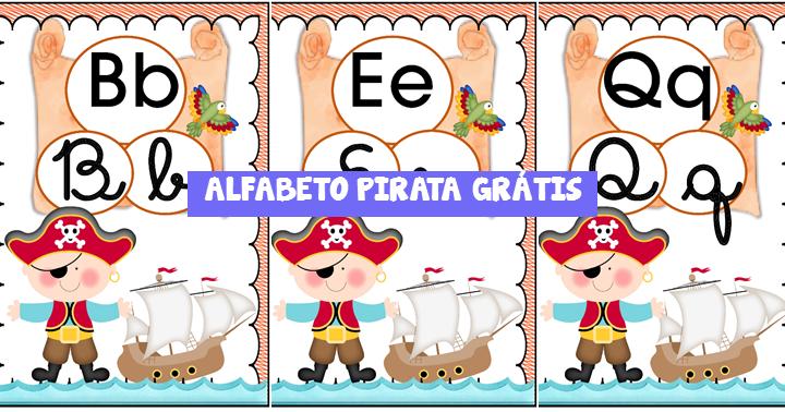 Alfabeto pirata para imprimir em pdf