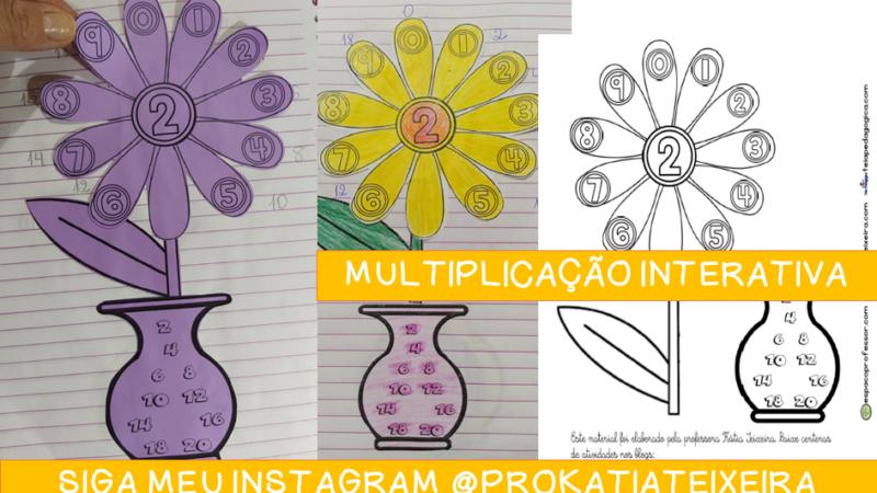 Apostila grátis Multiplicação interativa