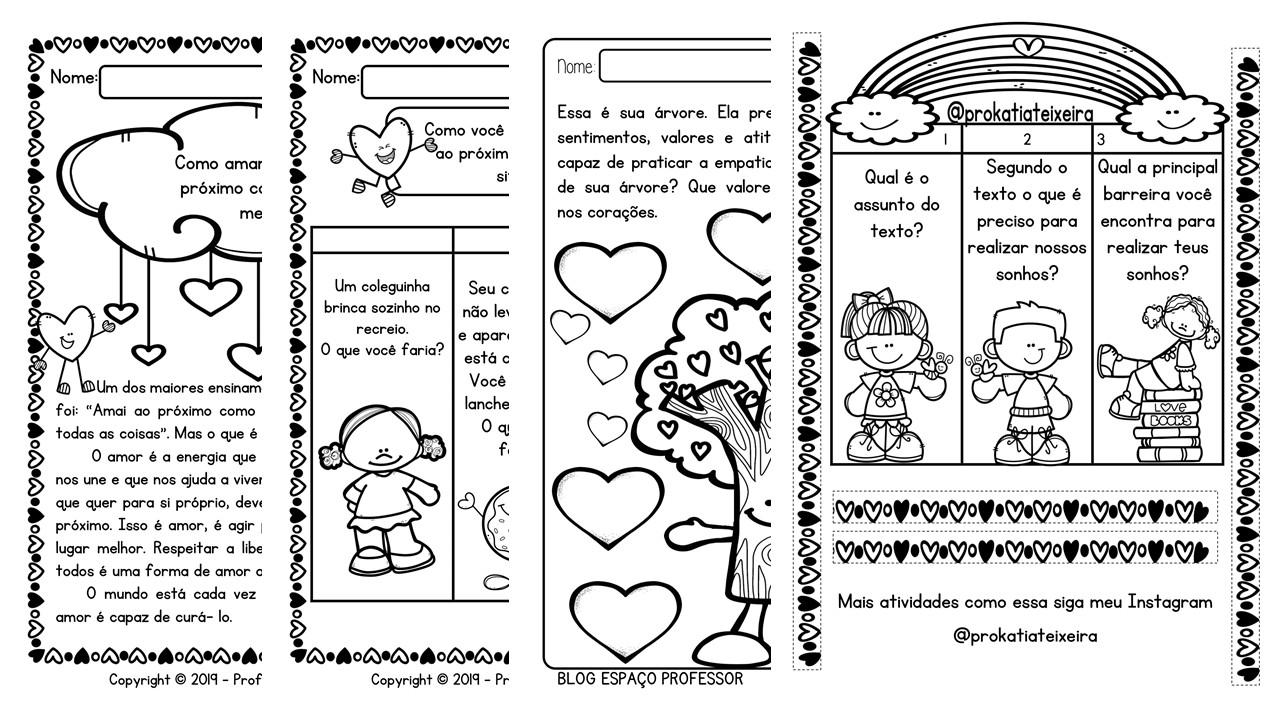 12 atividades de ensino religioso em PDF