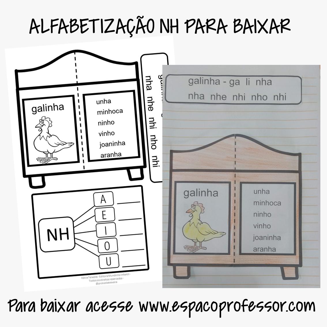 Atividade de Alfabetização NH – Atividade interativa Armário das sílabas