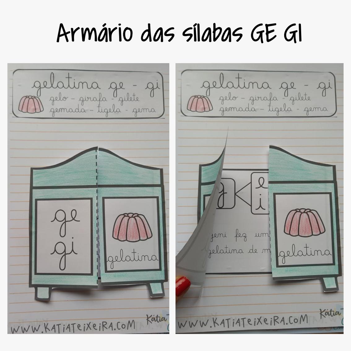 Atividade de alfabetização GE – GI – Atividade interativa
