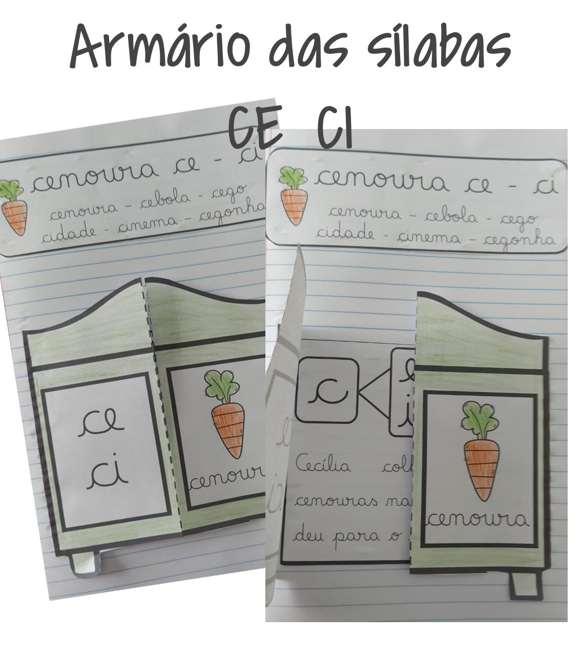 Atividade de alfabetização CE CI – Atividade interativa